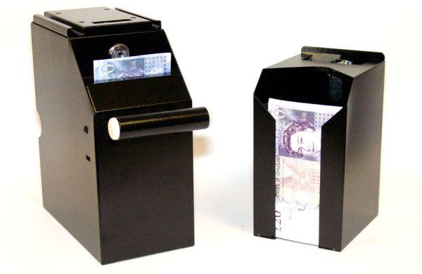 counter register box cash drawers pockets bill sale manual under drawer locking
