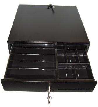 EC-335 Cash Drawer used in conjunction with the RCH Onda Cash Register.