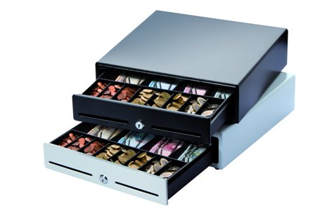 K 2 White Mini Cash Drawer From Discount Cash Registers
