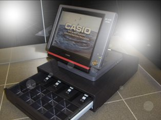 Casio QT-6100 with cash drawer