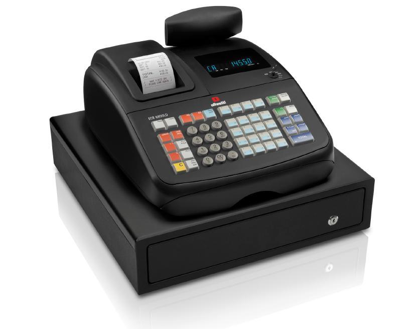 Olivetti Ecr 6800ld Cash Register Till From Discount Cash