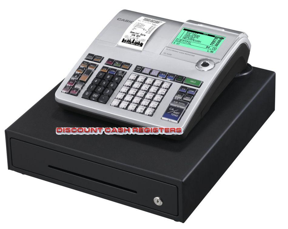 Casio Se S400 Cash Register Till From Discount Cash Registers