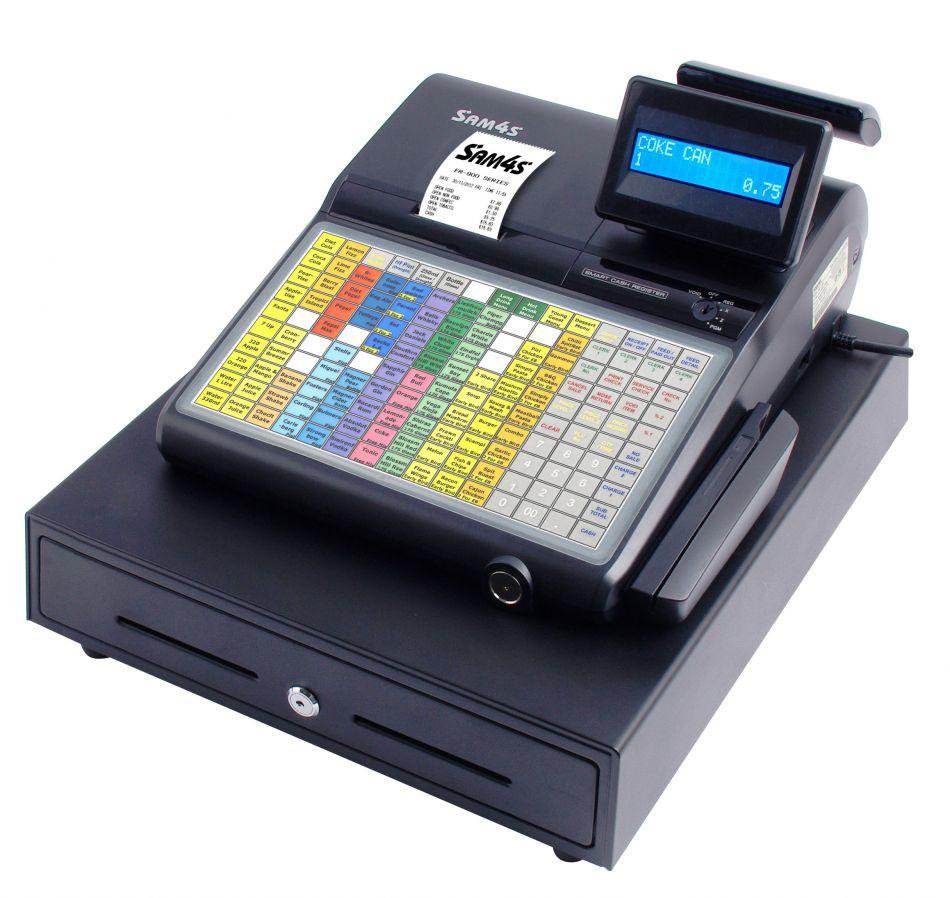 Sam4s Er 920 Cash Register Till From Discount Cash