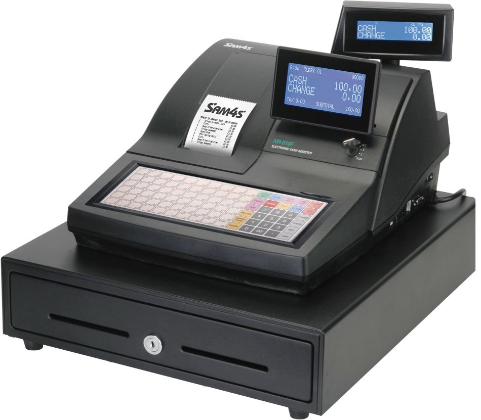 Tec barcode printer