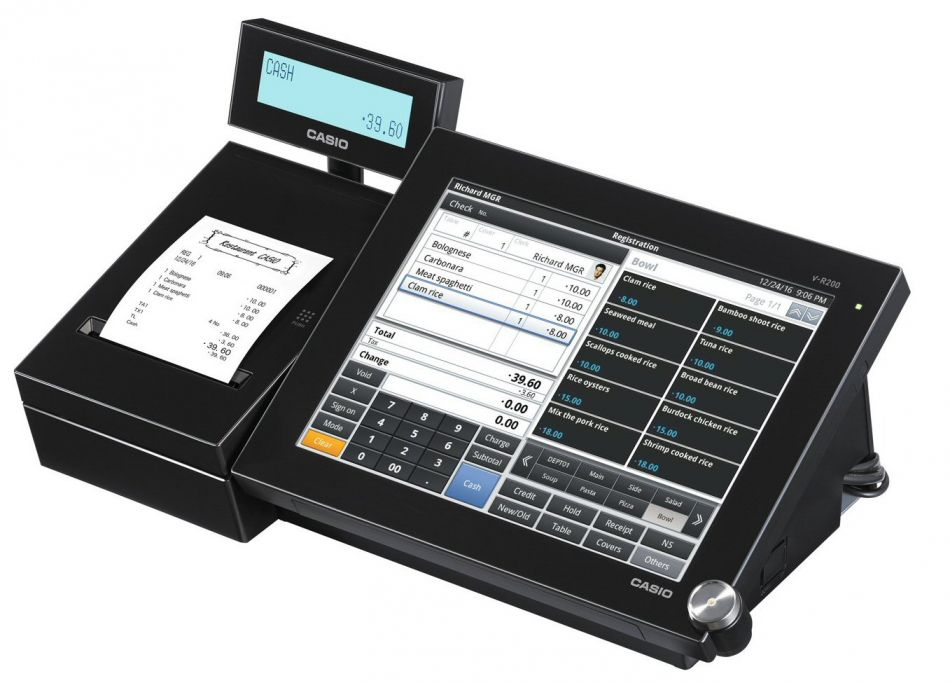 Casio V R200 From Discount Cash Registers